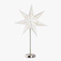Etoile STAR H46cm blanc