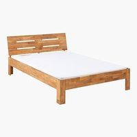 Estructura cama OLSKER 150x190 roble