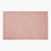 Tapete banho NOLVIK 50x80cm rosa