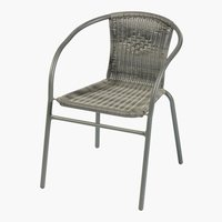 Stacking chair GRENAA grey