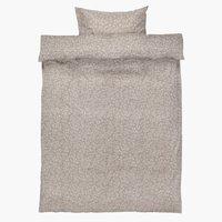 Parure de lit BELLA Micro SGL gris