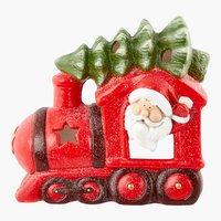 Weihnachtsszene SANTA CLAUS H32cm