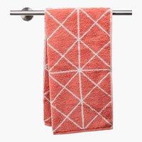 Toalla de baño GRAPHIC rosa empolvado