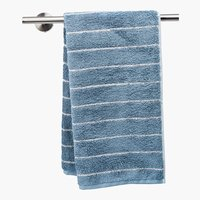 Lençol banho STRIPE azul poeirento