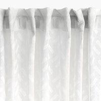 Függöny SULA 1x140x300 fehér
