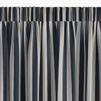Függöny FONNO 1x140x300 csíkos kék