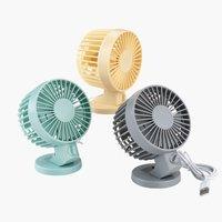 Mini ventilator NIELSEN 10x13x7cm raz.