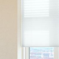 Plisségardin HOVDEN 80x160 hvit