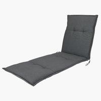 Jastuk za ležaljke HOPBALLE tamnosiva
