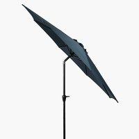 Sončnik AGGER Ø300 cm mornarsko modra