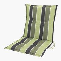 Cojín silla respaldo alto SEVILLA verde