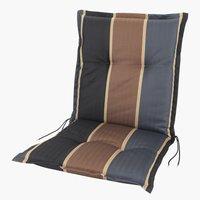 Cojín silla respaldo alto AKKA marrón