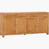 Sideboard HAGE 4 door 4 drw royal oak