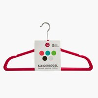 Kleiderbügel ANDERSEN Plastik 5 Stk/Pck