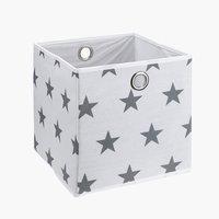 Korb STARS 30x30x30cm div.