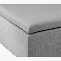 Jersey Umschlagtuch 90x200x6-10 grau