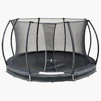 Nedgravd trampoline FALK Ø396 m/nett