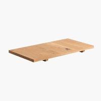 Extensión mesa WILD OAK 90x45 roble