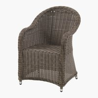Chaise GAMMELBY gris