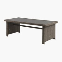 Table GAMMELBY l100xL225 gris