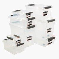 Κουτί αποθήκ. PROBOX 8L μ/καπάκι διάφανο