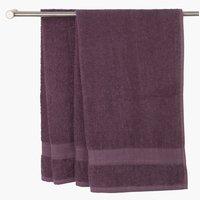 Ręcznik UPPSALA 65x130 ciemnofioletowy