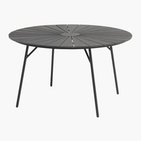 Table RANGSTRUP Ø130 noir
