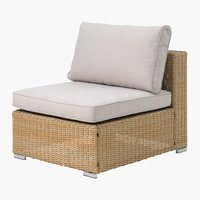 Loungeset DALL middenmodule naturel