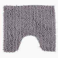 Туалетный коврик ROSVIK серый 45x50см