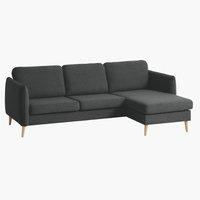 Sofa AARHUS Reclamiere rechts dunkelgrau