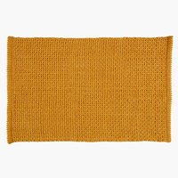 Bath mat NOLVIK 50x80 yellow