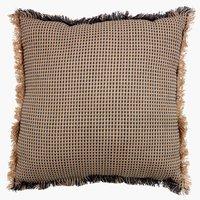 Cushion PELARGONIA 45x45 natural/grey