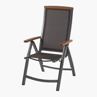 Recliner chair MADERNE grey