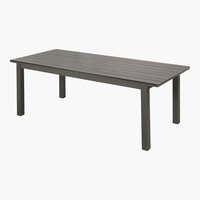 Tisch CALIFORNIA 100x226/316 grau