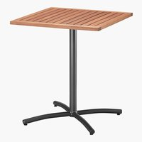Tavolo bistrot SANTIAGO P62xL62 hardwood