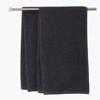 Hand towel GISTAD 50x90 asphalt