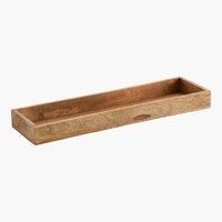 Tabuleiro deco BILL L14,5xC50cm madeira