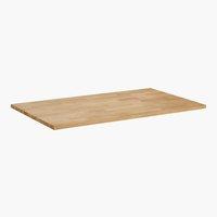 Tischplatte COLUMBIA 90x150 geölt/eiche
