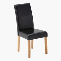 Chaise TUREBY noir