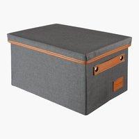 Aufbewahrungsbox LARA 21x31x18 grau