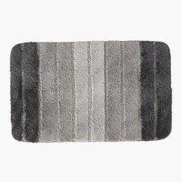 Alfomb. baño STRIPE 50x80 gris