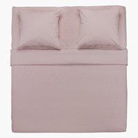 Conjunto lençóis ELLEN 260x300 roxo
