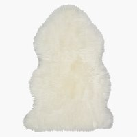 Piel de cordero KEJSERLIND 50x85 blanco