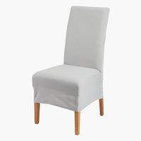 Capa cadeira TOM 40x45x85 cinzento claro