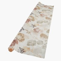 Toile cirée BUTTERFLY 140 rose