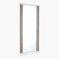 Espejo ORLANDO 65x155 blanco/gris