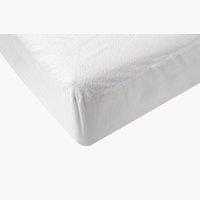 Lenzuolo impermeabile140x200x20cm bianco