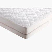 Protector colchón 160x190/200cm blanco