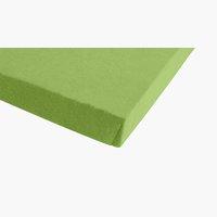 Lenzuolo in jersey140/160x200x30cm verde