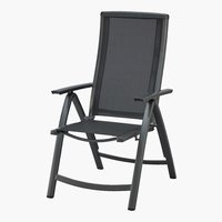 Silla reclinable ATLANTA gris